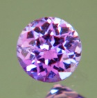 Violet purple African sapphire