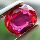 Ceylon rubies without treatment