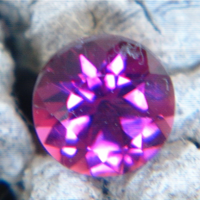 deep red rubellite from mozambique