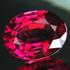 untreated natural red spinel gemstone