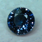 not treated dark blue sapphire
