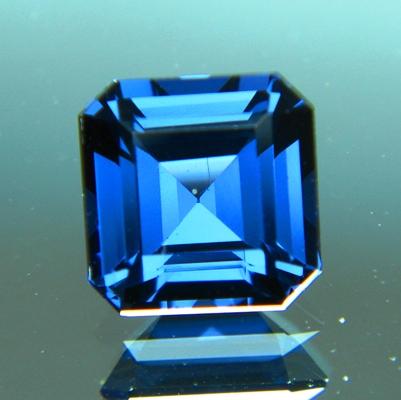 Deep cobalt blue Ceylon cobalt spinel
