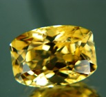 Deep honey yellow Ceylon sinhalite