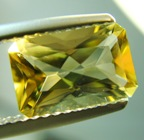 Fresh maze yellow Ceylon scapolite