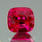 from the earth, natural pink ruby unheated and untreated