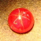 fine unheated star ruby