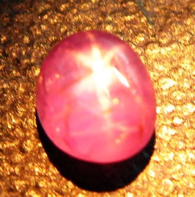 Lavender pink Burmese star Sapphire