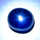 Rich kashmir blue Burmese star Sapphire