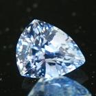 Shiny sky blue Ceylon sapphire