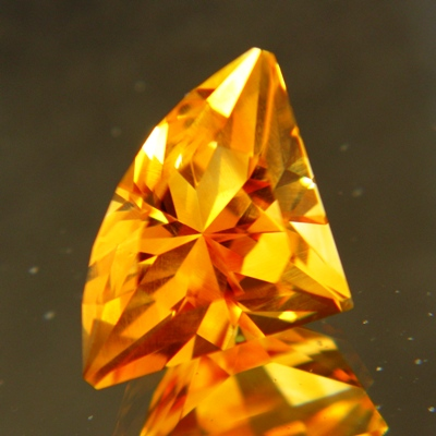 7 carat unheated citrine in finest cutting