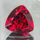 blood red untreated garnet