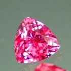 asian natural pink spinel triangular cut