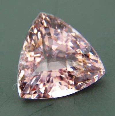 Fancy diamond pink Ceylon tourmaline