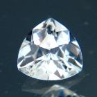 white sapphire heart shape natural