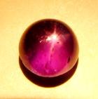 Rich violet purple Burmese star Sapphire