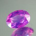 Silky lavender pink Ceylon sapphire