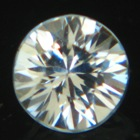Pure white Ceylon sapphire