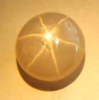 symetric natural white star sapphire