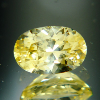 Maize yellow Ceylon sapphire