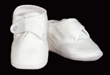 Boys Cotton Sateen  Shoe
