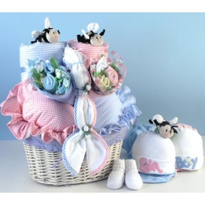 Bee...Beautiful Twins Gift Basket