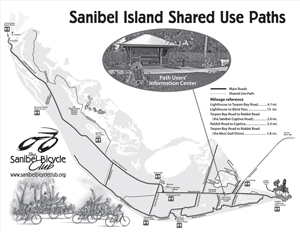 Sanibel bike path