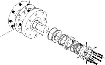 Batch Cooker Mechanical Seals full face mechanical seals Large Diameter Mechanical Seals