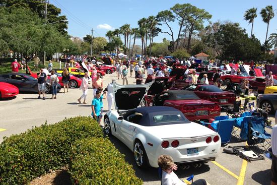 CCO Attends Venice Florida Corvette Show