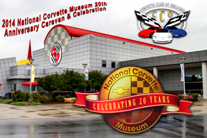 National Corvette Caravan and NCM 20th Anniversary