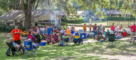 Picnic at DeLeon Springs...