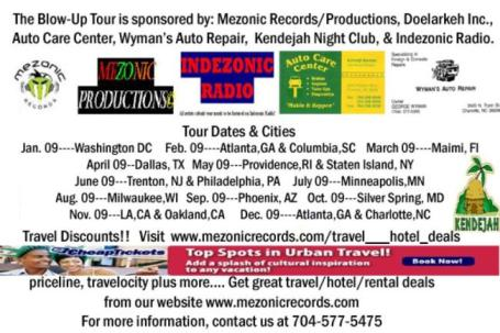 Actual tour dates & venues will be available on here!