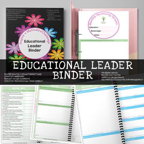 Educational Leader Binder Screenshot