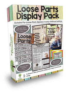 Loose Parts Interest Area Pack