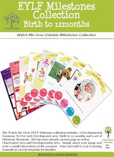 Developmental Milestones Birth to 12 months Screenshot
