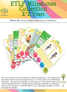 Developmental Milestones 1-2 years