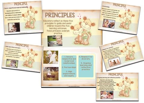 Principles and Practices Display Pack for families