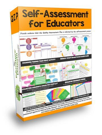 Educators Self-Assessment Set Screenshot
