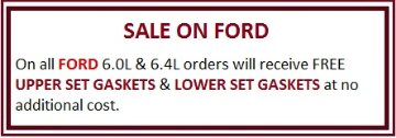 special offer on Ford Engines