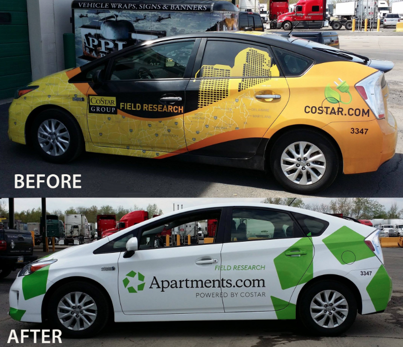 Philadelphia & Bucks County Custom Vehicle Wraps, Signs & Banners