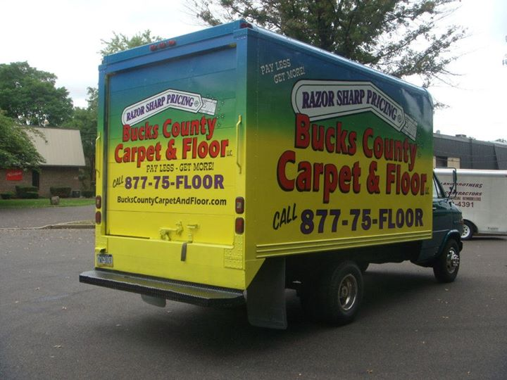 Bucks County vehicle wrap