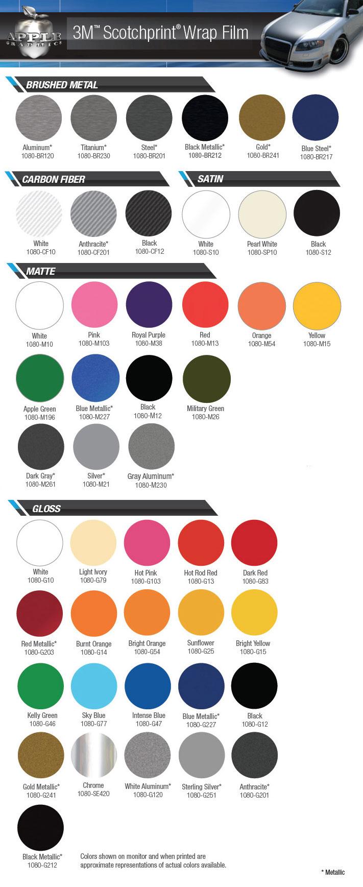 Color Change Wraps