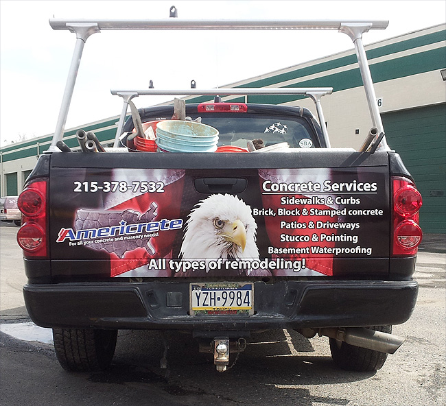 Truck Wrap for Americrete - Philadelphia Vehicle Wraps
