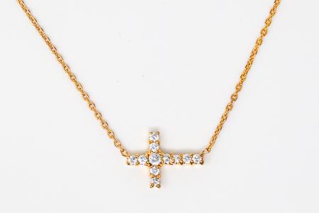 Gold Cross Jewelry Gift Set.