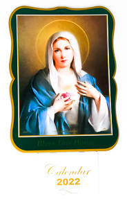 Immaculate Heart of Mary 2022 Calendar.