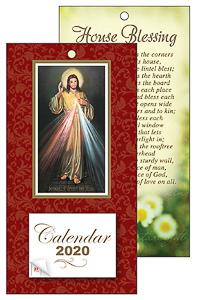 2020 Divine Mercy Standing Calendar.