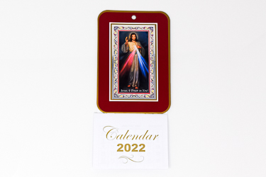 2022 Calendar - Divine Mercy.
