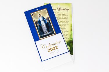 2022 Miraculous Standing Calendar.
