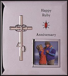 40th Wedding Anniversary Photo Frame