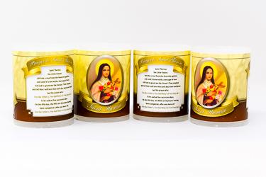 Saint Theresa Votive Candle's.