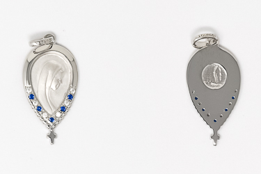 925 Sterling Silver Tear Drop Pendent